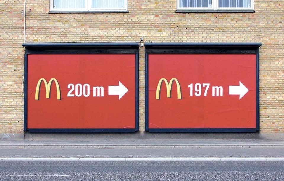 Top 10 biển quảng cáo sáng tạo và ấn tượng nhất của McDonald's