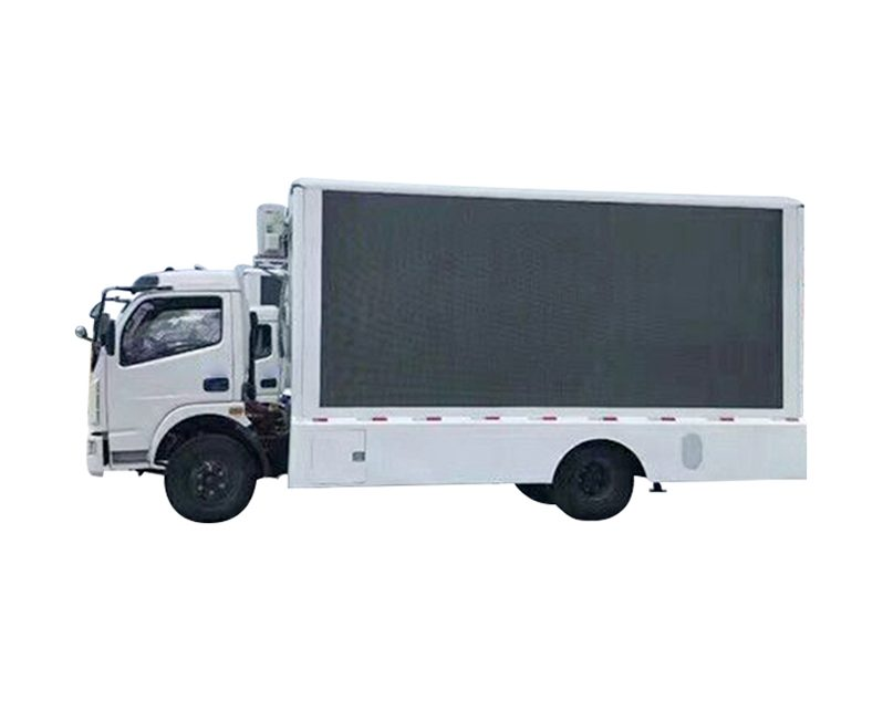 Hình ảnh xe tải quảng cáo màn hình LED