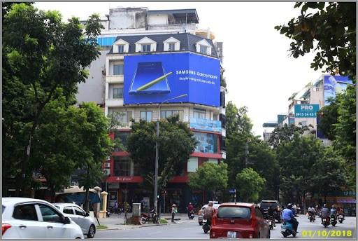 Quảng cáo trên các tòa nhà