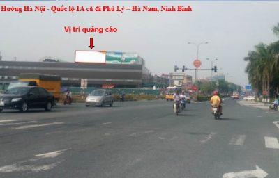 Billboardquảng cáo quốc lộ 1A, chợ Phủ Lý, Phủ Lý, Hà Nam