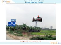 Billboard giao lộ Võ Văn Kiệt-Quốc lộ 2A,Cao tốc Thăng Long-Nội Bài