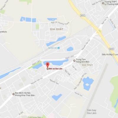 Pano tại bến xe Gia Lâm, Gia Thụy, Long Biên, Hà Nội