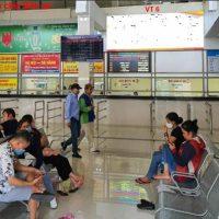 Pano tại bến xe Giáp Bát, Giải Phóng, Hoàng Mai, Hà Nội