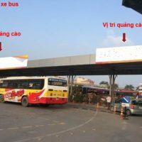 Pano quảng cáo tại bến xe Nước Ngầm, Giải Phóng, Hà Nội