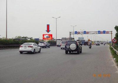 Pano quảng cáo tại cầu Thanh Trì – Ngã 3 khu đô thị Ecopark, Hà Nội