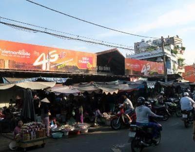 Biển chợ Ba Đình, Quận 8, TPHCM