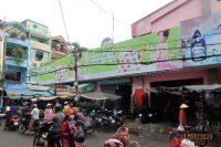 Biển quảng cáo chợ Bình Tiên, Quận 6, tp.HCM