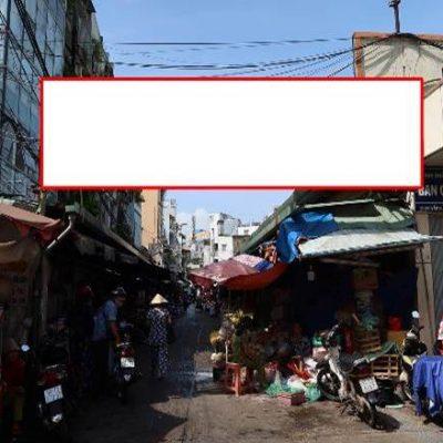 Biển quảng cáo chợ Đa Kao, Quận 1, TPHCM