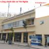 Pano quảng cáo tại tòa nhà bến xe Yên Nghĩa, Hà Nội