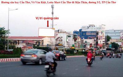 Pano quảng cáo đường Mậu Thân, cầu Rạch Ngỗng, TP Cần Thơ