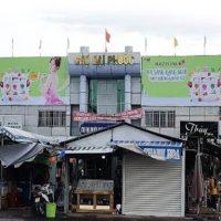Pano quảng cáo tại chợ Đại Phước, Đồng Nai