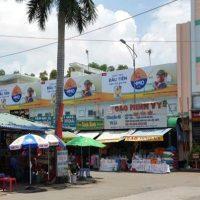 Biển quảng cáo chợ Long Thọ, Đồng Nai