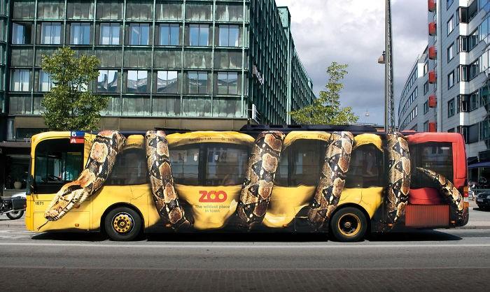 Quảng cáo mở rộng xe bus
