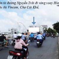 Pano tại chân cầu Cái Khế, Đường Nguyễn Trãi, Ninh Kiều, Cần Thơ