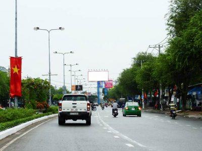 Billboard tại tiểu đảo đường 30 tháng 4, Vòng xoay Cầu Đầu Sấu, Cần Thơ