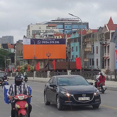 Pano quảng cáo tại 97 Bạch Đằng, Hồng Bàng, Hải Phòng