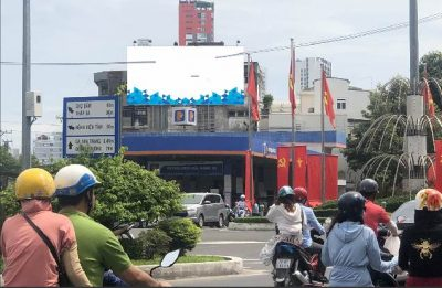 Pano quảng cáo tại 299 Đường Thống Nhất, Nha Trang, Khánh Hòa