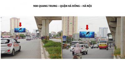Pano quảng cáo tại 908 Quang Trung, Hà Đông, Hà Nội