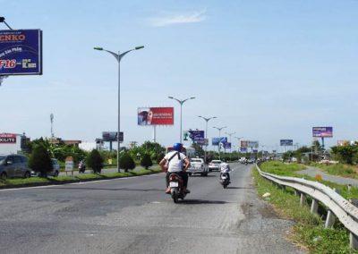 Billboard quảng cáo tại CCT26 đường dẫn cầu Cần Thơ, Cần Thơ