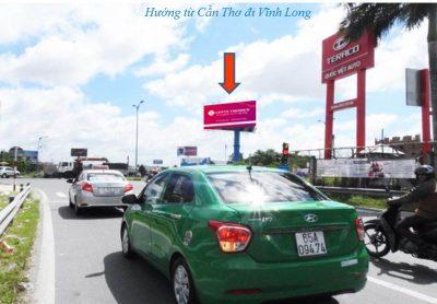 Billboard quảng cáo tại CCT28, đường dẫn Cầu Cần Thơ, Cần Thơ