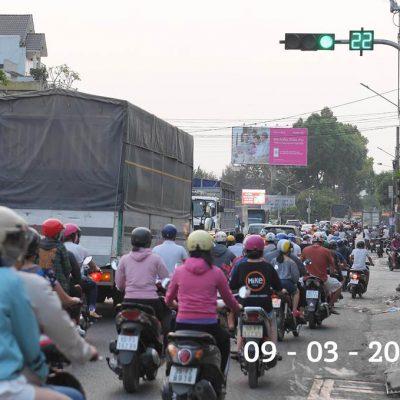 Bilboard quảng cáo tại Công viên 30-4, Biên Hoà, Đồng Nai