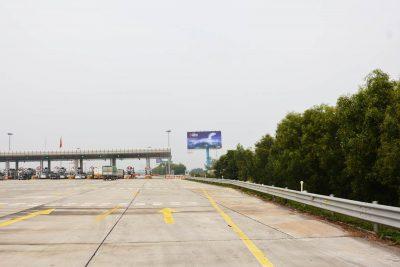 Billboard quảng cáo tại Km10+520(T) cao tốc Hà Nội - Hải Phòng