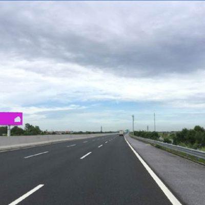 Billboard quảng cáo tại Km47+650 trên cao tốc Hà Nội – Hải Phòng