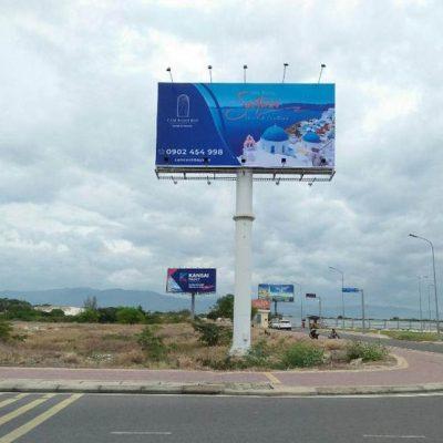 Billboard lối ra nhà ga (cr-op16) sân Bay Cam Ranh, Khánh Hòa
