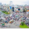 Màn hình LED quảng cáo tại Ngã 7 Ô Chợ Dừa, Đống Đa, Hà Nội