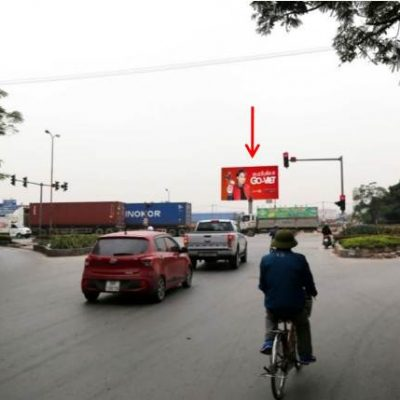Billboard quảng cáo tại ngã ba Nguyễn Văn Linh – Cầu Niệm, Hải Phòng