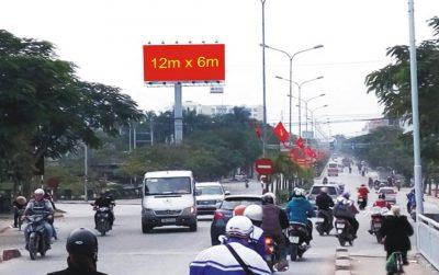 Billboard ngã ba Phạm Văn Đồng – Mạc Quyết, Dương Kinh, Hải Phòng