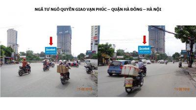 Pano tại ngã tư Ngô Quyền, Giao Vạn Phúc, Hà Đông, Hà Nội