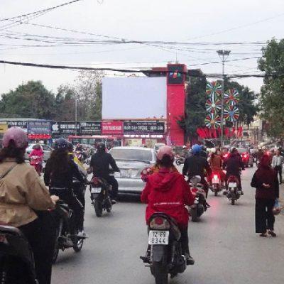 Pano quảng cáo tại số 115 Trần Đăng Ninh, Lạng Sơn