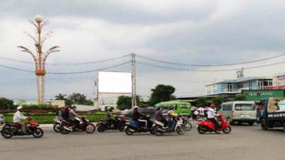 Pano tại vòng xoay Phan Thị Ràng, Rạch Giá, Kiên Giang