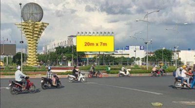 Pano tại vòng Xoay Phú Cường, Phan Thị Ràng, Rạch Giá, Kiên Giang