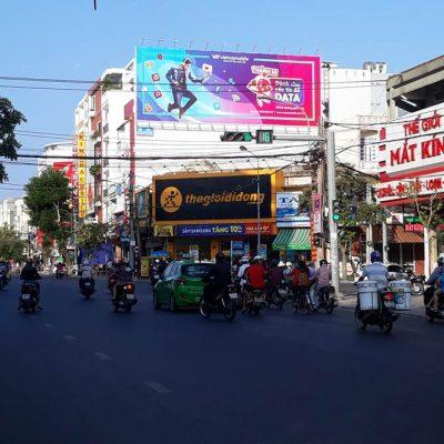 Pano quảng cáo tại 203 Trần Hưng Đạo, Phường 3, Tuy Hòa, Phú Yên