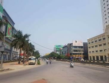 Pano quảng cáo tại 44 Trần Phú, Vinh, Nghệ An