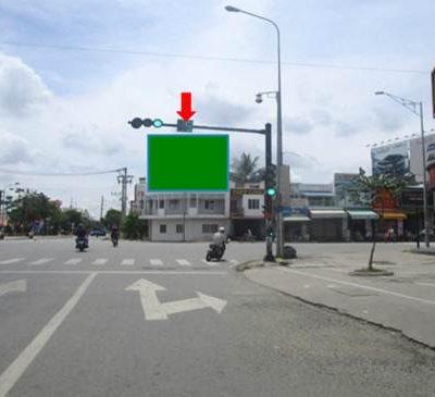 Pano quảng cáo tại 93 Hùng Vương, Tân An, Long An