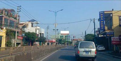 Pano quảng cáo trên cầu Đông Hà, Quảng Trị
