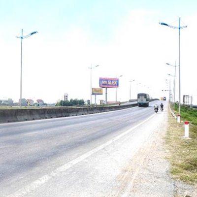 Pano tại cầu vượt đường tránh Quốc lộ 1A, Hoằng Quỳ, Thanh hóa