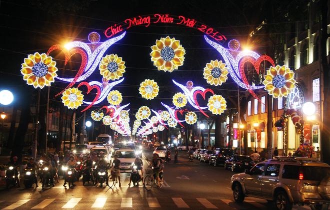 chiếu sáng đường phố
