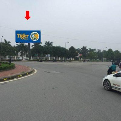 Pano quảng cáo tại công viên Viên, Vinh, Nghệ An