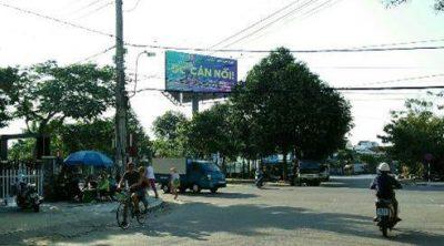 Billboard tại ngã 4 Tôn Đức Thắng Hai Bà Trưng, Quảng Nam
