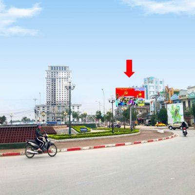 Pano tại ngã 5 Trần Hưng Đạo, Đại Lộ Đông A, Nam Định