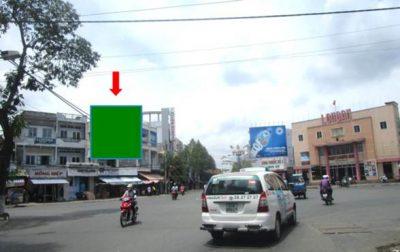 Pano quảng cáo tại số 2 Võ Văn Tần, Quận 2, Tân An, Long An