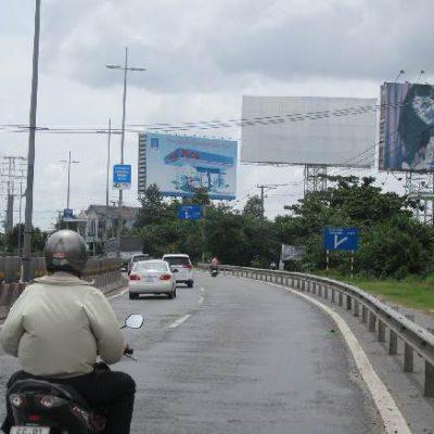 Billboard quảng cáo tại Ngã Ba Vĩnh Long Cầu Mỹ Thuận, Sa Đéc
