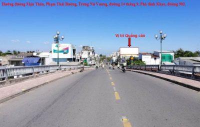 Pano ngã tư đường 14/9, Nguyễn Chí Thanh, đường 8/3, Vĩnh Long