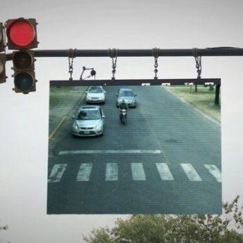 honda the awareness traffic light